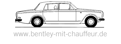 Bentley mit Chauffeur @ Wedding Collective Essen